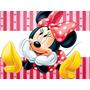 Kit Imprimible Minnie De Disney 2en1 (candy Bar + Cotillon)