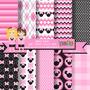 Kit Imprimible -papeles Minnie - Imagenes