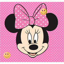 Kit Imprimible Minnie Mouse Rosa - Tarjetas Candy Bar