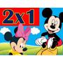 Kit Imprimible Mickey Y Minnie Mouse - Nene Y Nena 2x1