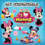 Kit Imprimible La Casa De Minnie Mouse Personaliza Tu Fiesta