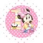 Kit Imprimible Minnie Bebe Golosinas Personalizadas Candy