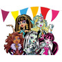 Kit Imprimible Monster High Diseñá Tarjetas, Cumples Y Mas .