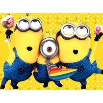 Kit Imprimible Candy Bar Minions Mi Villano Favorito Y Mas