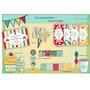 Kits Imprimibles Cumpleaños Circo Vintage
