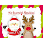 Kit Imprimible Navidad, Papa Noel, Candybar Deco Navidad