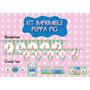 Kit Imprimible Peppa Pig Feliz Cumple Candy Bar