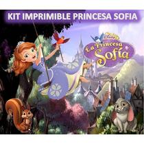 Kit Imprimible Princes Sofia