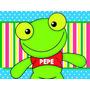 Kit Imprimible Sapo Pepe Cotillon Imprimible Promo 2x1