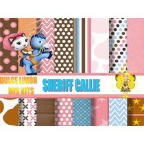 Kit Imprimible Papeles, Imagenes Sheriff Callie Y Mas!!!!!!!