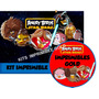 Kit Imprimible Angry Birds Star Wars Tarjetas Golosina Y Mas
