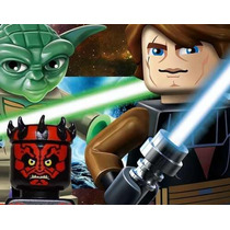 Kit Imprimible Star Wars Lego, Diseña Tu Fiesta