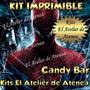 Kit Imprimible Candy Bar Golosinas Spiderman Hombre Araña