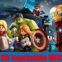 Kit Imprimible Avengers Lego Tarjeta Invitacion Candy 2015