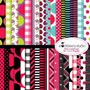 Kit Imprimible Pack Fondos Vaquita De San Antonio 2 Clipart