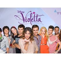 Kit Imprimible 2 X 1 Violetta Disney Candy Bar Cotillon Y +
