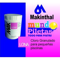 Mak Lona Cloro Granulado Pequeñas Piletas Bactericida
