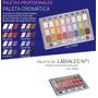 Paleta Profesional Cromatica Labiales 24 Colores - Laca
