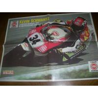 Poster Kevin Schwantz Campeon Mundial Motociclismo 1993(037)