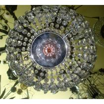 Lampara Colgante Imperio Excelente Pieza Vintage (0161)