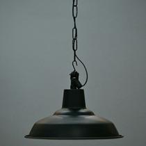 Lamparas Antiguas Colgante Galponera Vintage 35cm