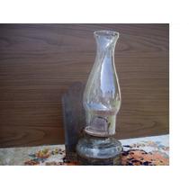 Antigua Lampara A Kerosene Completa Y Sana Del Año 1900