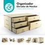 Organizador - Elevador De Monitor En Fibrofácil