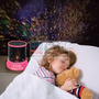 Velador Proyector Estrellas Corazones Led Usb Luz De Noche