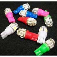Lamparas X100 Posicion 5 Smd T10 Led Varios Colores X Mayor