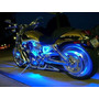 Tira De Led 20 Cm Blanco Para Auto O Moto 12 V Flexible