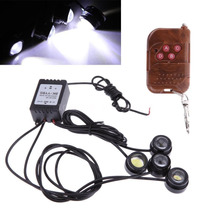 Luces Led Auto Tunning Interior Exterior Kit X4 Con Control