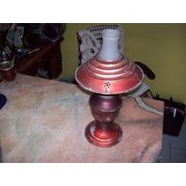 Antigua Lampara De Mesa A Alcohol O Kerosene