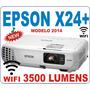 Proyector Epson X24 3500lum 10.000:1 1080p Wifi C/dongle Inc