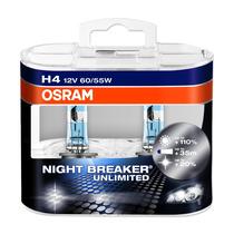 Kit De Lamparas Night Breaker Unlimited H4 Osram
