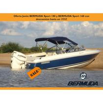 Bermuda 180 Sport Con Evinrude E-tec 135 Hp