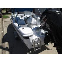 Lancha Tracker Albatros 640 Open Mercury 115 Hp 4t 2016 Efi