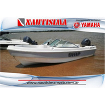 Tecno 520 Ship Matrizada Con Yamaha 60 Hp 2t - Nautisima -