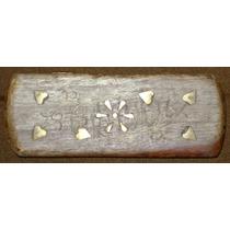 Porta Lapiceras Lápices Hindú Decoración Bronce - No Envío