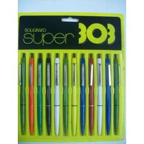 303 Bolígrafo Retráctil Plástico Super Varios Colores