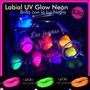 Labial Fluo Uv-glow + Luz Negra. Efecto Neon!!