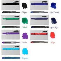 Cartucho Lamy Pack X3 Cajas X5 Unidades/colores A Eleccion -