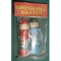 Libreria Antigua Borrador Japon Kokeshi Doll Modelo 2