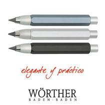 Portaminas Wörther Compact 5.6mm, De Aluminio Anodizado