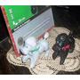Antiguo Perrito Caniche Baltasar Plastico Inflado (4566)