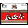 Etiqueta Cerveceria Cerveza Santa Fe Rubia M.r. 970cm3