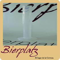 Probeta Plástica 100 Ml Para Cerveza Artesanal Bierplatz