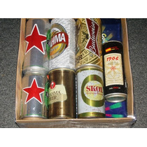 Hermoso Lote Latas Cerveza Nacionales E Importadas