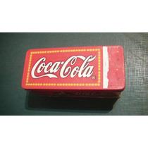 Latita Rectangular Coca Cola Litografiada Coleccion 2000