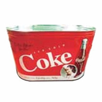 Portaobjetos / Hielera Oval Coca Cola Quality Toys