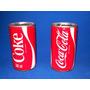 Antiguas Latas De Chapa De Coca Cola Remachadas